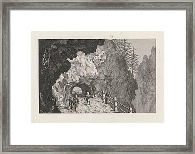 Passage In The Rocks, David Van Der Kellen IIi Framed Print