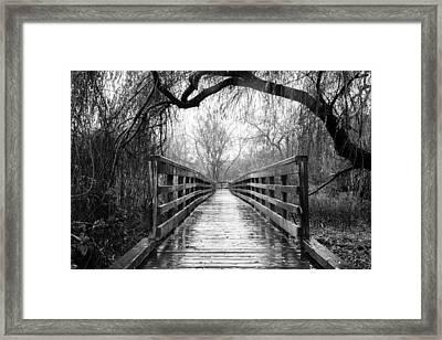 Passage Framed Print by Takeshi Okada
