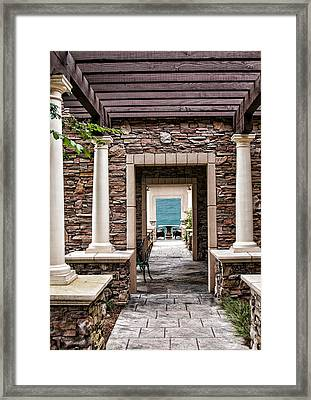 Passage To The Pacific Framed Print by Lara Ellis