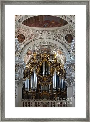 Passau Cathedral Saint Stephan 2 Framed Print