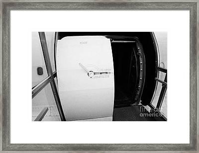 passenger door of the British Airways Concorde  Framed Print