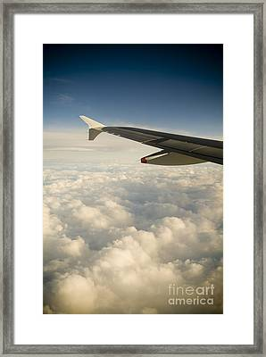 Passenger View Framed Print by Tim Hester