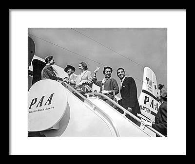 American Airways Framed Prints