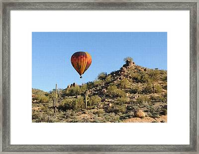 Passing By Framed Print by Gordon Beck
