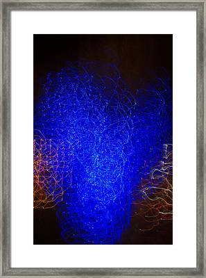 Passing By The Vortex Framed Print by Douglas Barnett