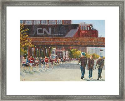 Passing By Framed Print