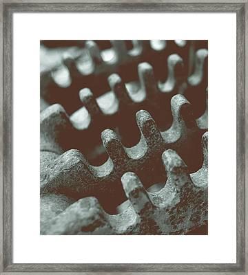 Passing Gears Framed Print by Steven Milner