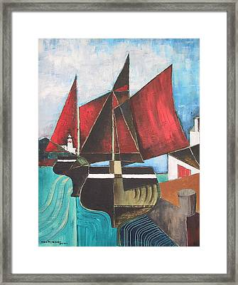 Passing Howth Head  Dublin Framed Print