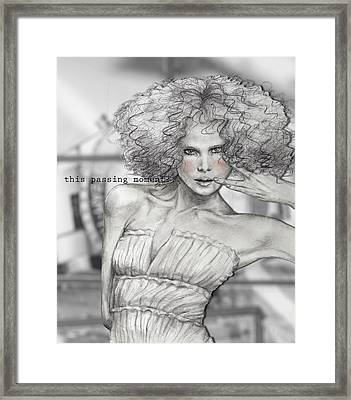 Passing Moment Framed Print by Junko Van Norman
