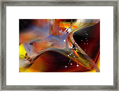 Passing Orion - Constellation Stars Framed Print