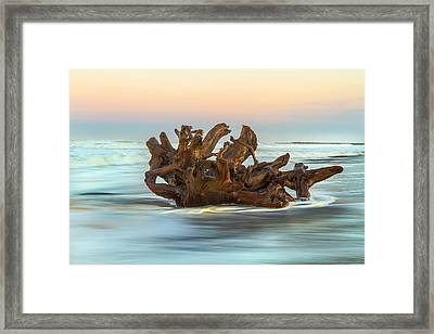 Passing Through Framed Print by Randy Wood