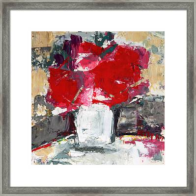 Passion 2 Framed Print by Becky Kim
