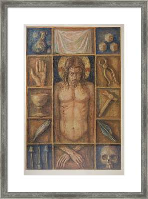 Passion Cabinet Framed Print by Paez  Antonio