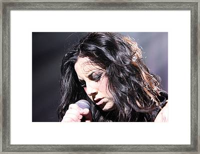 Passion For Singing Framed Print by Shoal Hollingsworth