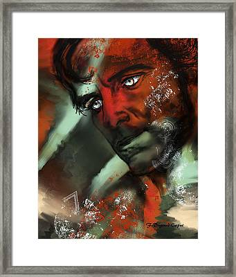 Passion Framed Print by Francoise Dugourd-Caput
