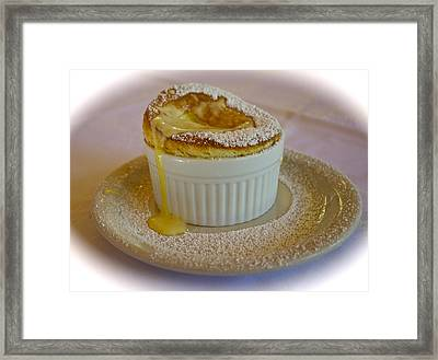 Passion Fruit Souffle Framed Print by Venetia Featherstone-Witty