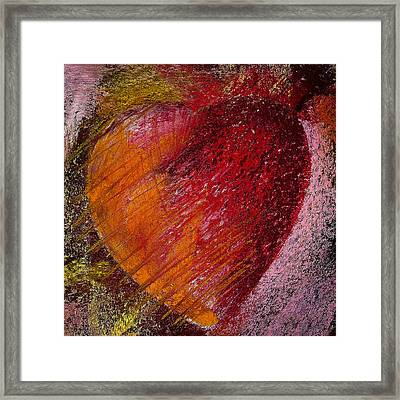 Passion Heart Framed Print