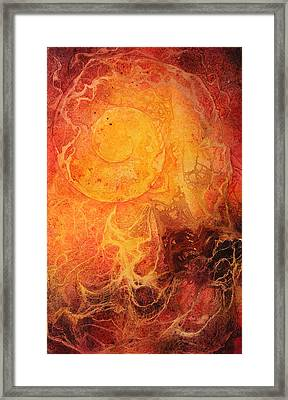Passion Ignited Framed Print by Ellen Starr