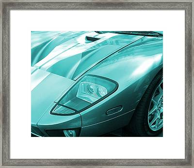 Passion In Blue Framed Print