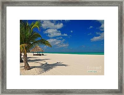 Passion Island Framed Print