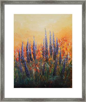 Passion Framed Print by Jane  See