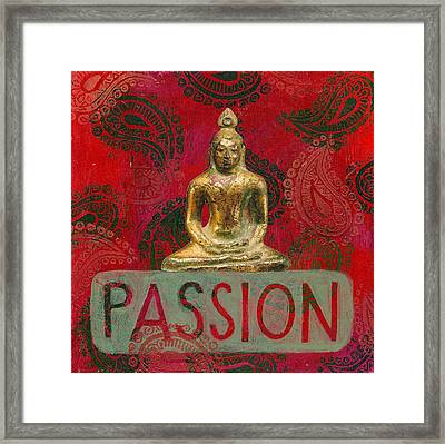 Passion Framed Print by Jennifer Mazzucco