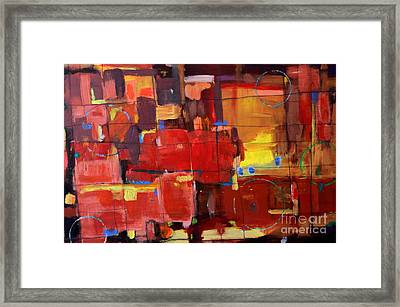 Passion Framed Print by Kelly Athena