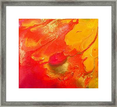Passion Light Movement Framed Print