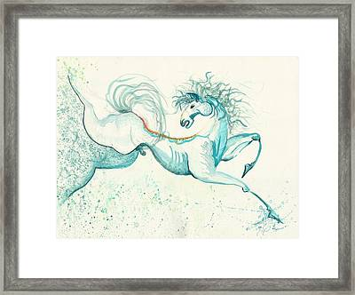 Passion Framed Print by Melinda Dare Benfield