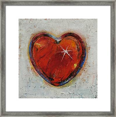 Passion Framed Print by Michael Creese