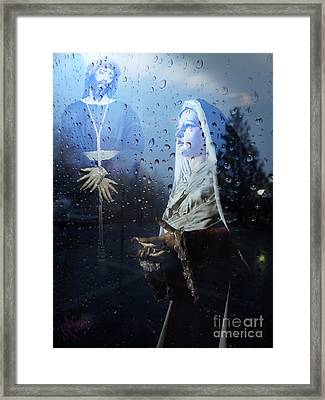 Passion Mother Framed Print