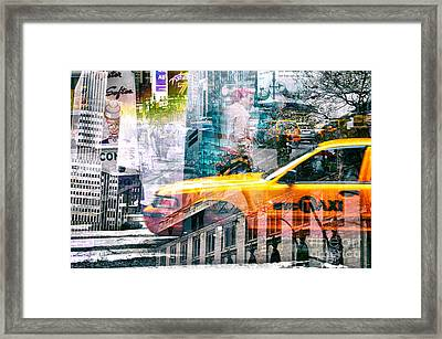 Passion Nyc Around Bryant Park Framed Print by Sabine Jacobs