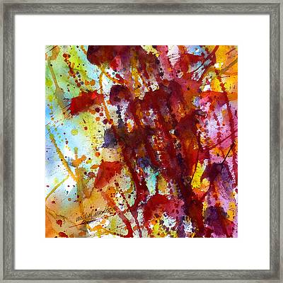 Passion Rising Framed Print