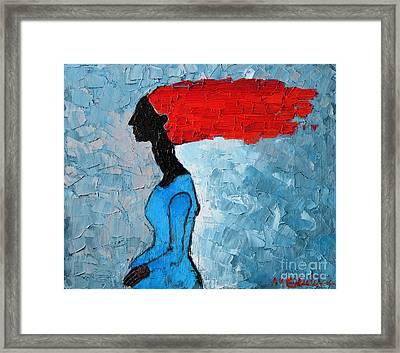 Passion Seeker Framed Print by Ana Maria Edulescu