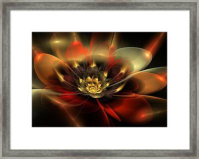 Passion Framed Print by Svetlana Nikolova