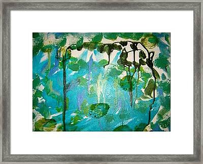 Passion Vine Framed Print