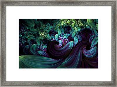 Passionate Mindfulness Framed Print by Georgiana Romanovna