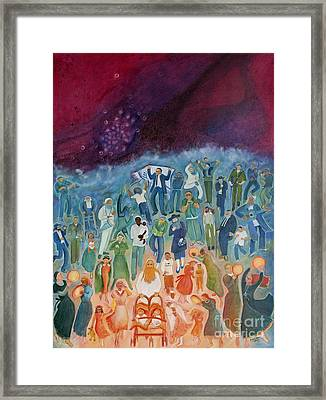 Passover Not Only Our Fathers Framed Print by Chana Helen Rosenberg