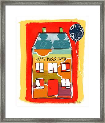 Passover House Framed Print by Linda Woods