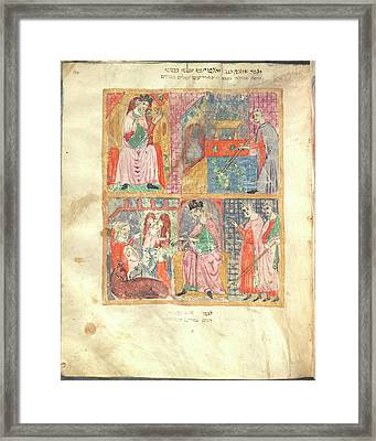 Passover Scenes Framed Print by British Library