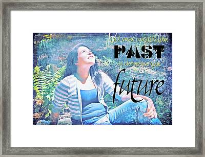 Past And Future Framed Print
