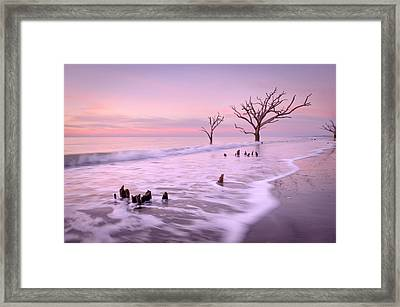 Past And Present Framed Print by Tommy  White