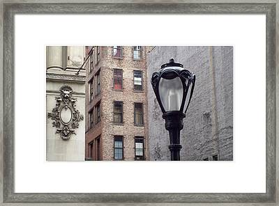 Past Facing Future Framed Print by Jhoy E Meade