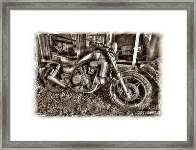 Past Glory Days Framed Print by Dan Friend