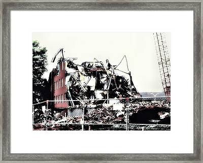 Past Gone Framed Print by Luis A Vera