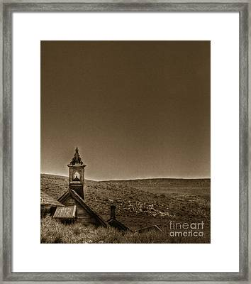 Past Framed Print by Margie Hurwich