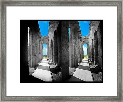Past Present 2 Framed Print by Madeline Ellis
