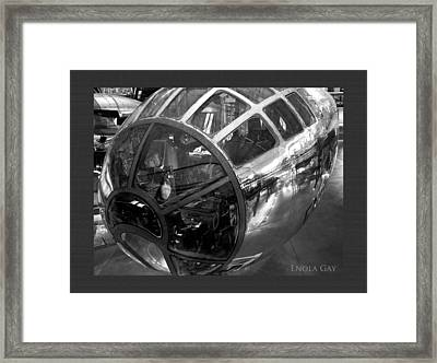 Past Reflections Framed Print by Donna Proctor
