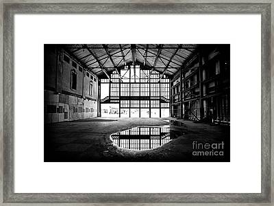 Past Reflections Framed Print by John Rizzuto