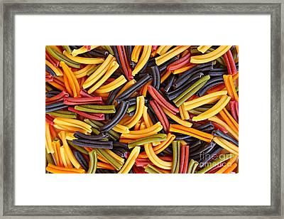 Pasta Lovers Framed Print by Clare Bevan